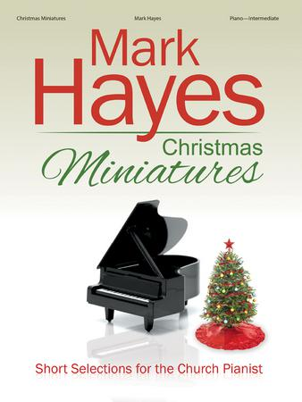 Christmas Miniatures church choir sheet music cover