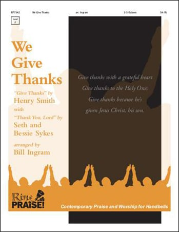 We Give Thanks