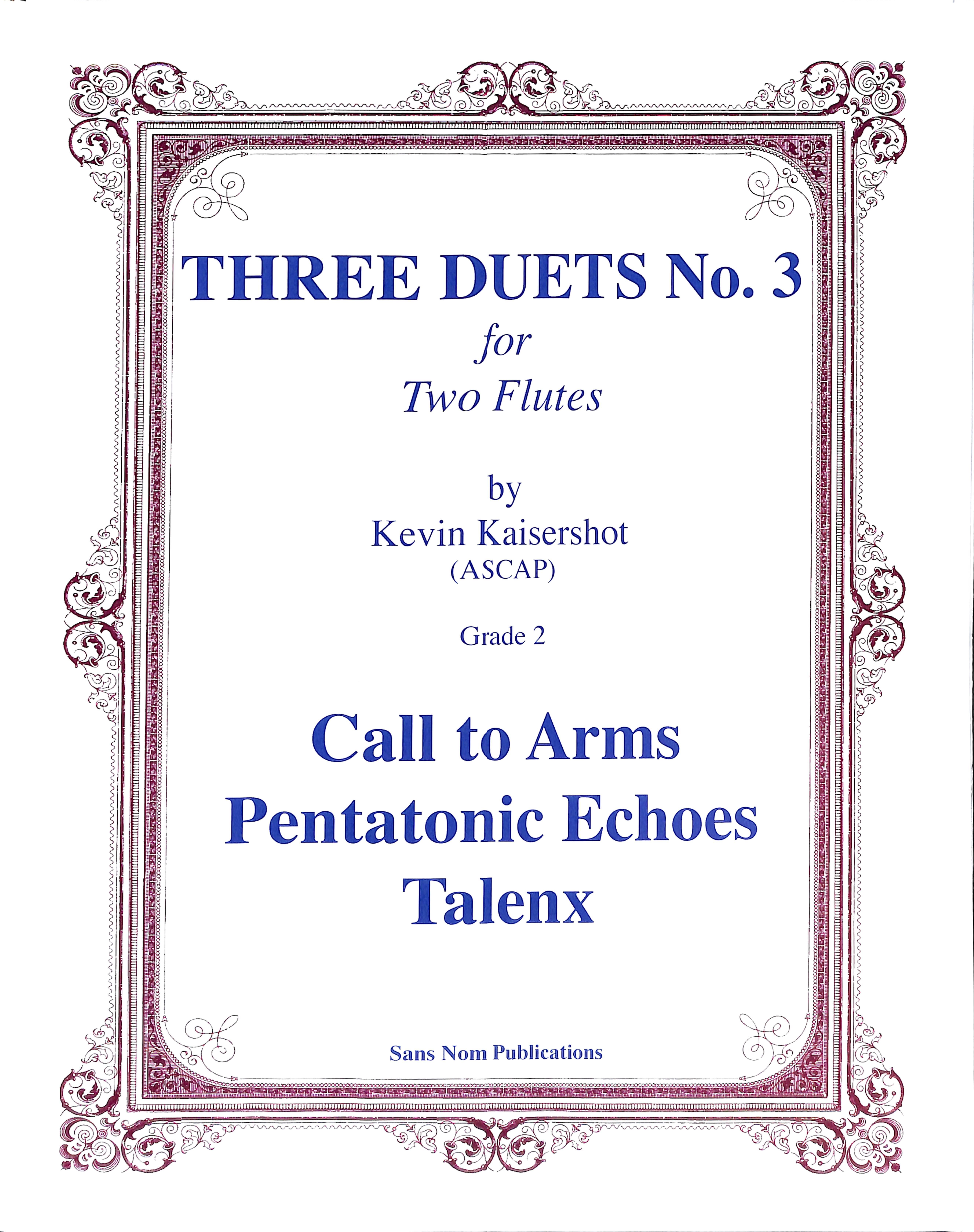 Three Duets #3 Thumbnail