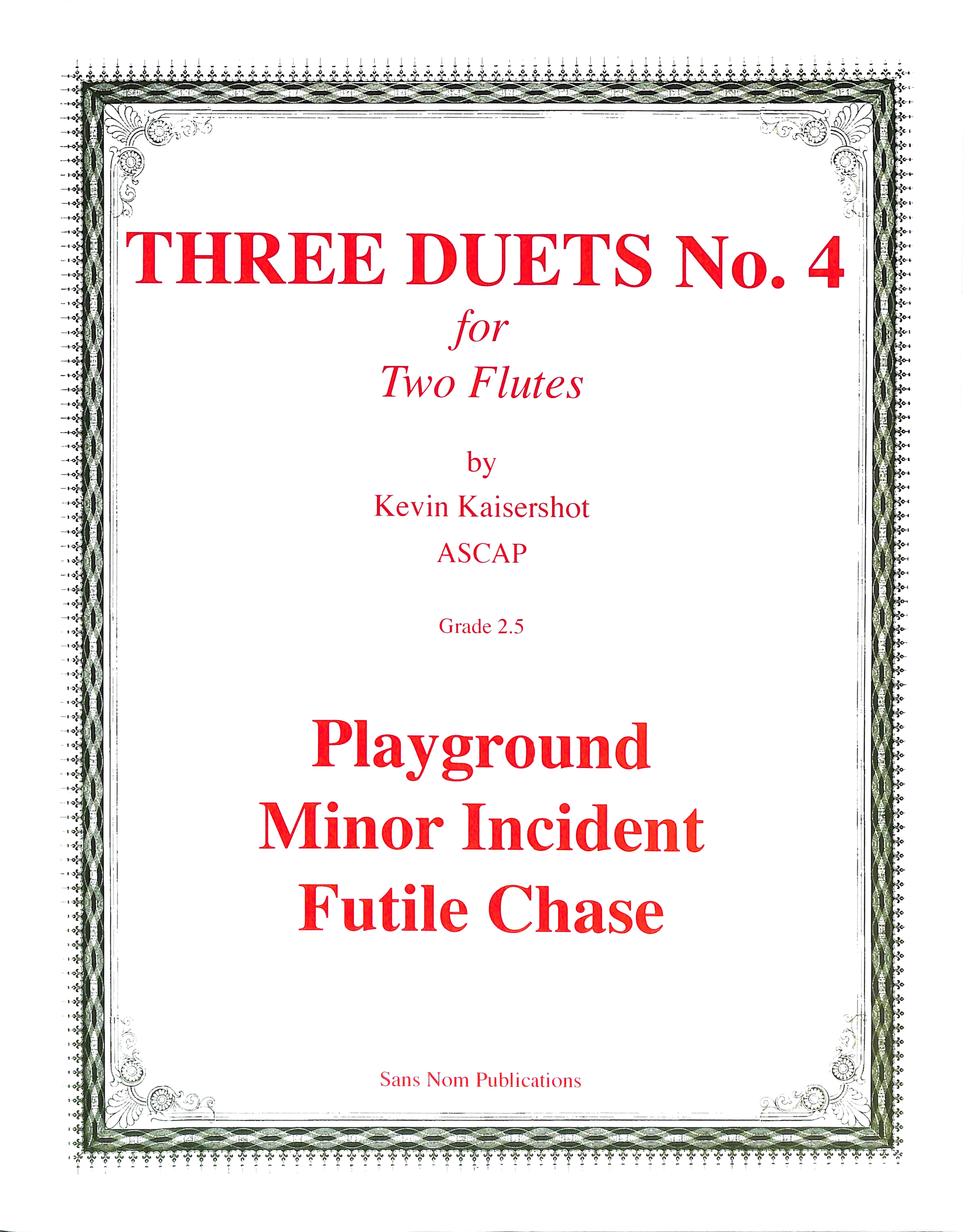 Three Duets #4 Thumbnail