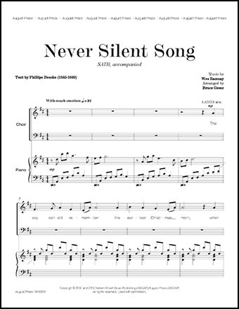 Never Silent Song