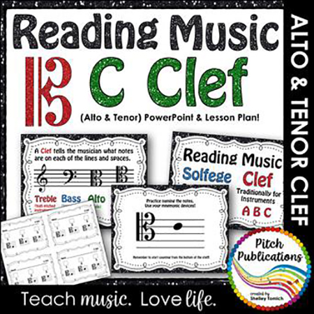 Introducing C Clefs - Alto and Tenor Clefs