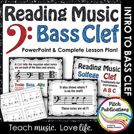 Introducing Bass Clef