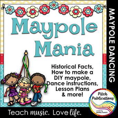 Maypole Mania! How to build and dance the Maypole