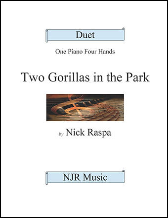 Two Gorillas in the Park  Thumbnail