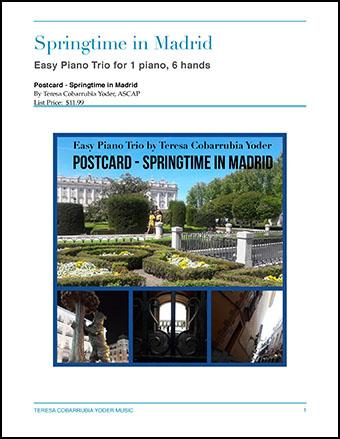 Postcard - Springtime in Madrid