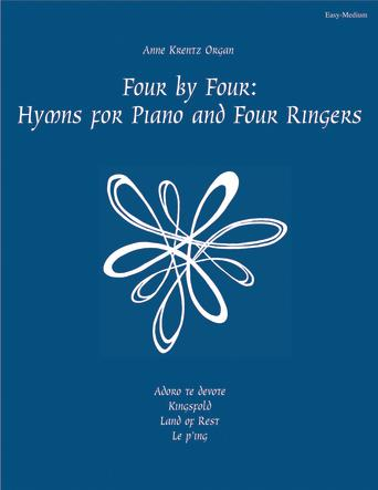 Four by Four Hymns for Piano and Four Ringers