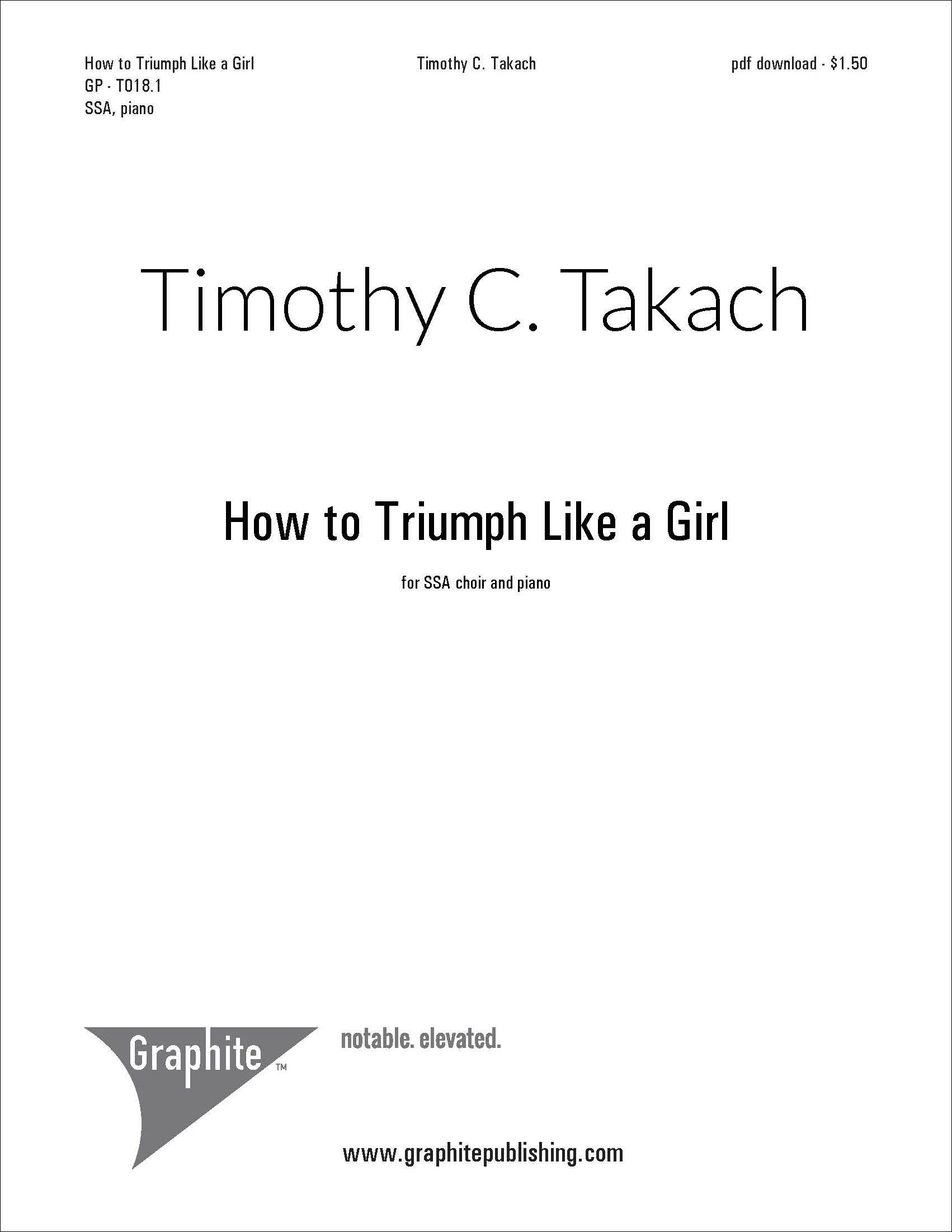 How to Triumph Like a Girl