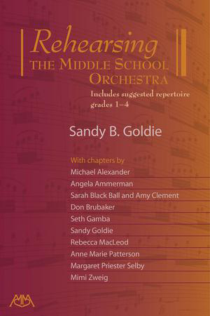Rehearsing the Middle School Orchestra Cover