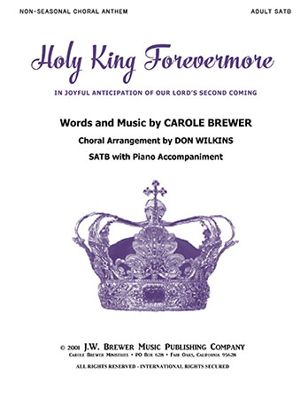 Holy King Forevermore