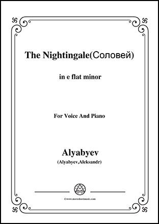 The Nightingale in e flat minor