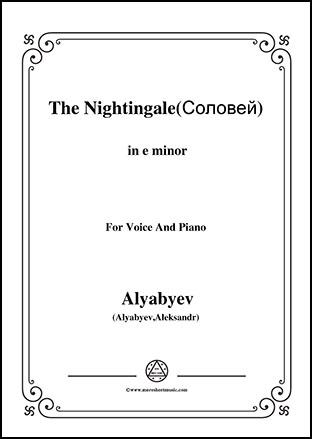 The Nightingale in e minor