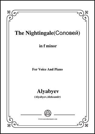 The Nightingale in f minor