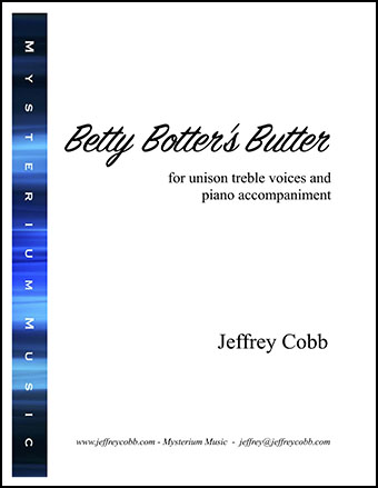 Betty Botter's Butter
