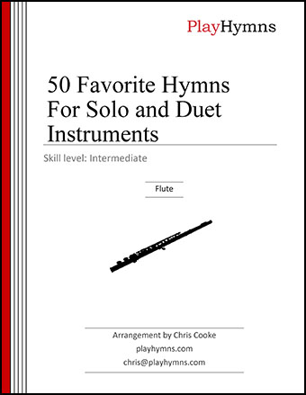 50 Favorite Hymns for Solo and Duet Instruments:  Flute