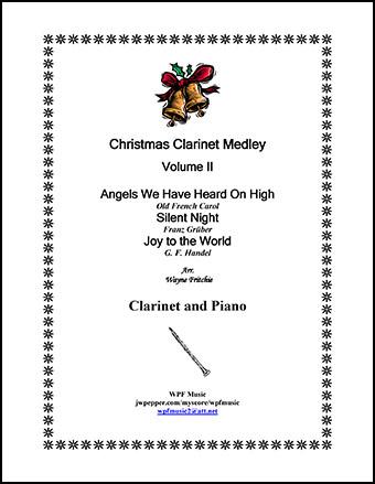 Christmas Clarinet Medley Volume II