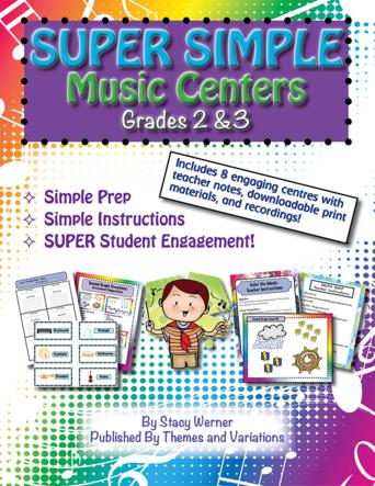 Super Simple Music Centers - Grades 2 & 3