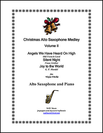 Christmas Alto Saxophone Medley Volume II