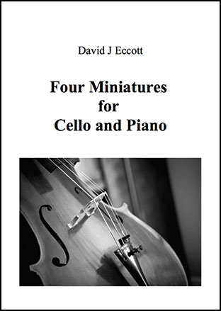 Four Miniatures for Cello and Piano