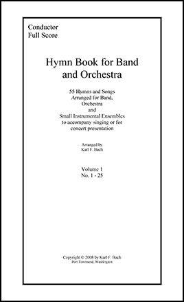 Hymn Book for Band and String Orchestra