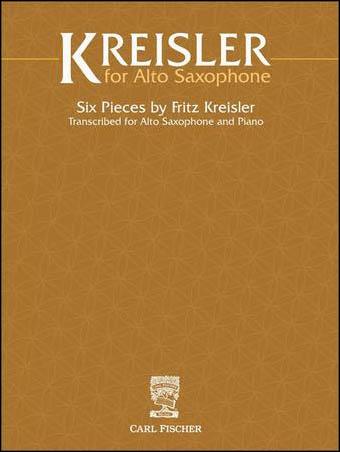 Kreisler for Alto Saxophone