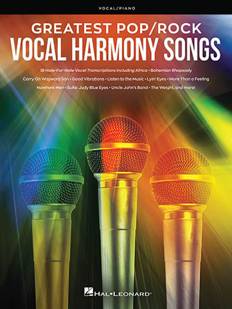 Greatest Pop & Rock Vocal Harmony Songs