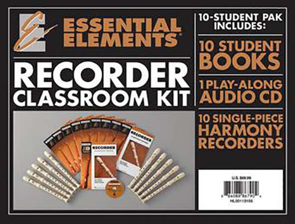 Essential Elements for Recorder : Classroom Kit