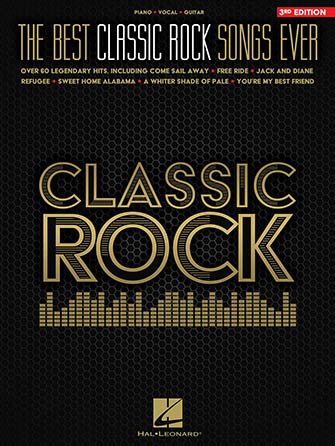 Classic Rock Sheet Music Songbooks | Sheet music at JW Pepper