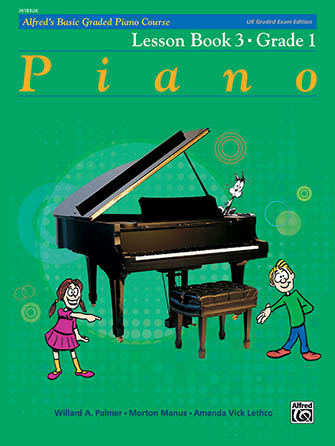 Alfred's Basic Graded Piano Course #3