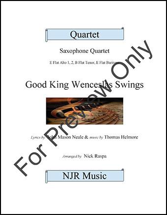 Good King Wenceslas Swings  Cover