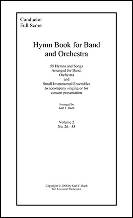 Hymn Book for Band and String Orchestra Thumbnail