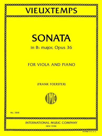 Sonata in B-flat Major, Op. 36