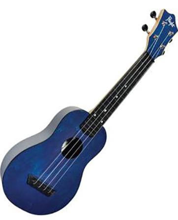 Dark Blue Soprano Ukulele
