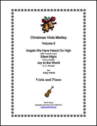 Christmas Viola Medley Volume II