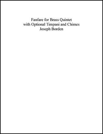 Fanfare for Brass Quintet