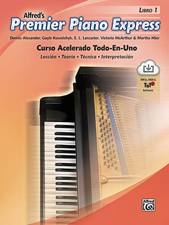 Alfred's Premier Piano Express Spanish Edition