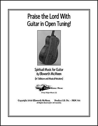 Praise the Lord with Guitar in Open Tuning