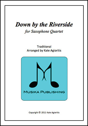 Down by the Riverside - for Saxophone Quartet