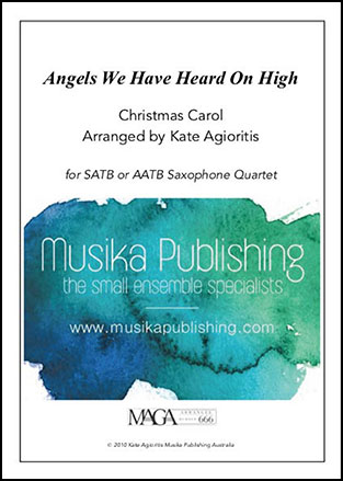 Angels We Have Heard On High - Saxophone Quartet
