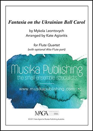 Fantasia on the Ukrainian Bell Carol - Flute Quartet