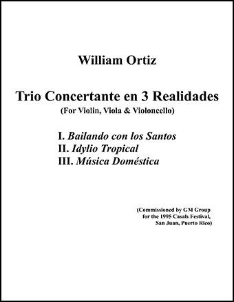 Trio Concertante en 3 Realidades