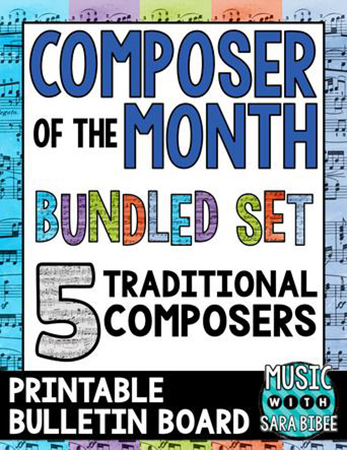Composer of the Month - Bundle #1