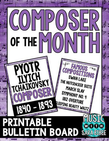 Tchaikovsky - Composer of the Month