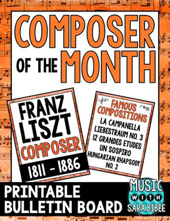 Liszt - Composer of the Month