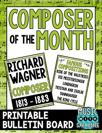 Wagner - Composer of the Month