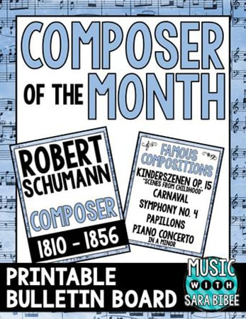 Robert Schumann - Composer of the Month