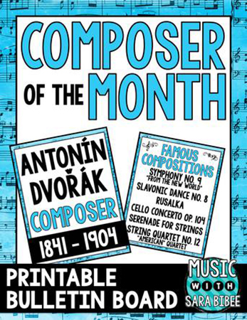 Dvorak - Composer of the Month