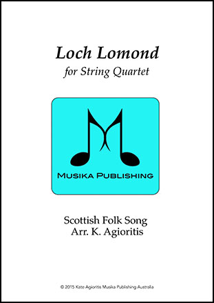 Loch Lomond - String Quartet