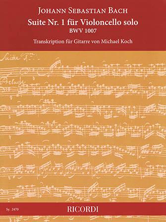 Suite No. 1, BWV 1007