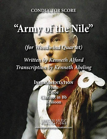 Army of the Nile March Cover